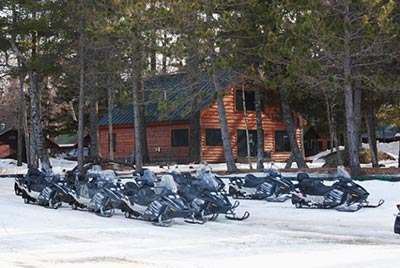 Largest fleet of Ski-Doo sleds in Maine at NEOC