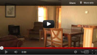Lodging video tour of the Millinocket Stream cabin