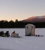 Photo of Katahdin in winter