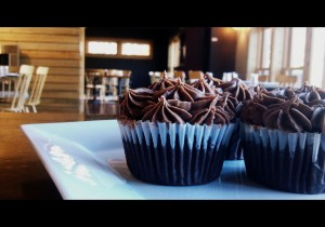 mocha frosted chocolate cupcakes
