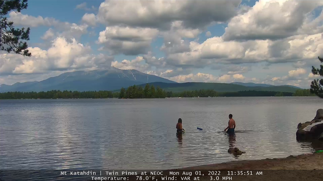 Mount Katahdin webcam
