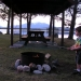 campfire-on-the-point-twin-pine-camps-maine