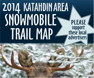 2014 Katahdin Area Snowmobile Trail Map