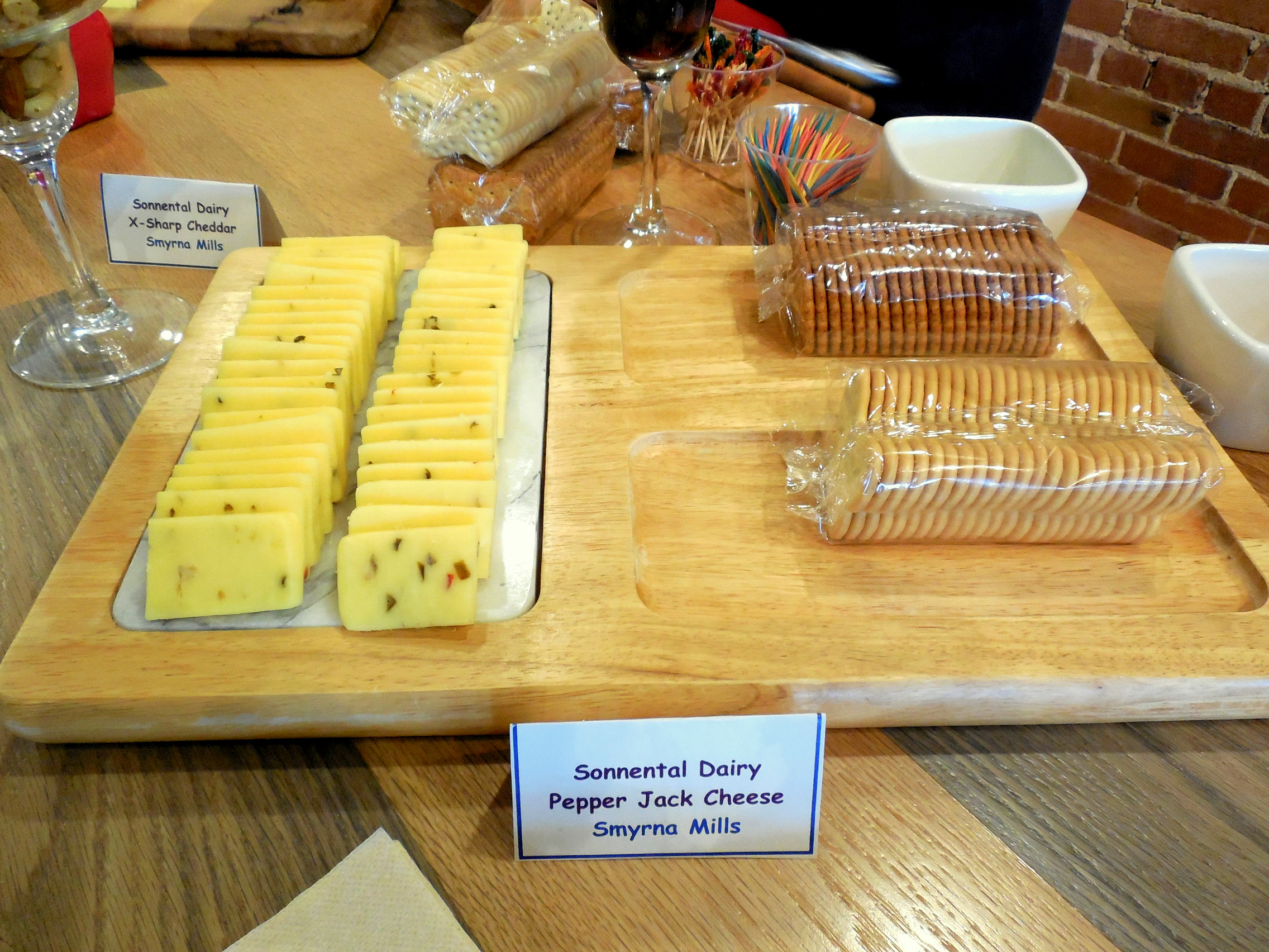 Woods and Water Shop Cheese