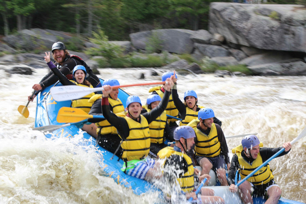 Rafting with NEOC