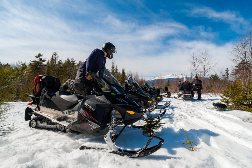 Snowmobile Tours Maine