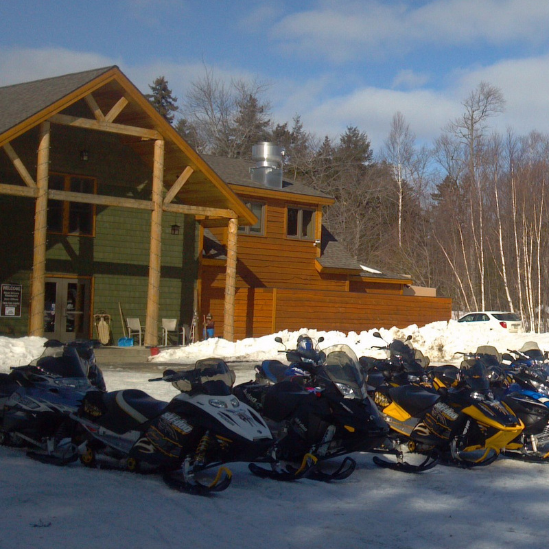 Guided Snowmobile Trips
