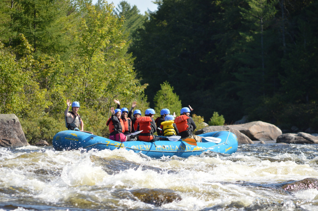 Soft Adventure rafting experience