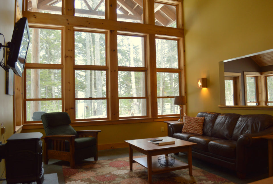 Living room in Lodge at neoc