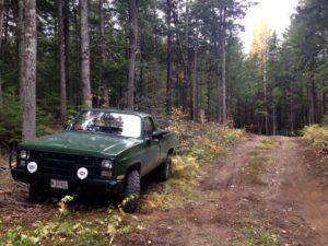 NEOC Trail Crew Truck