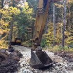 Trail development at NEOC