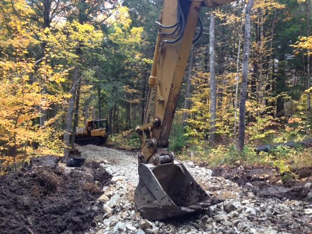 Trail development at NEOC