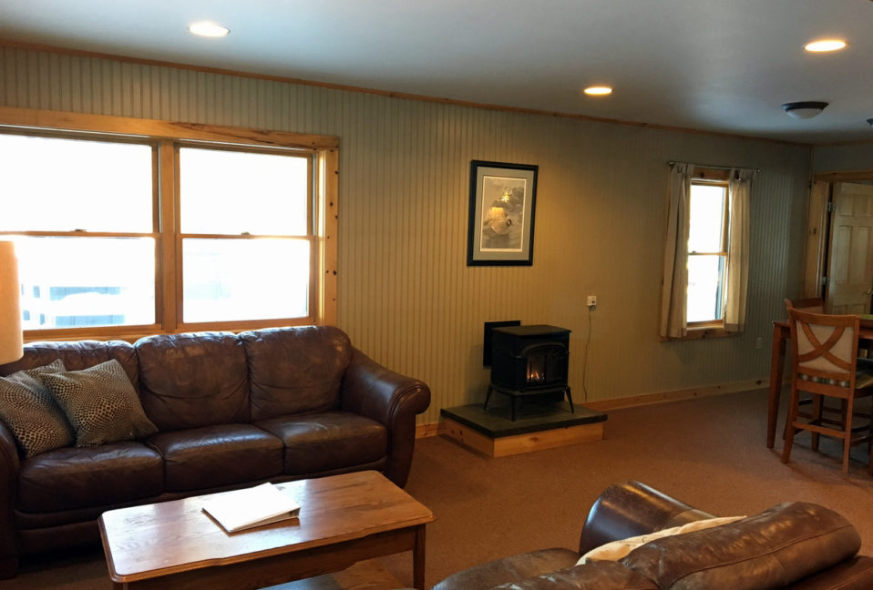 Millinocket Stream Living Area