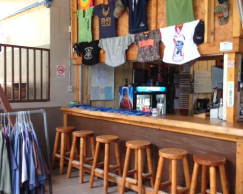 Broken Paddle Pub at POC