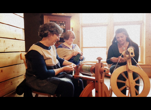 yarn and fiber retreat 2015
