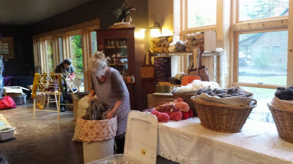 yarn and fiber retreat 2015