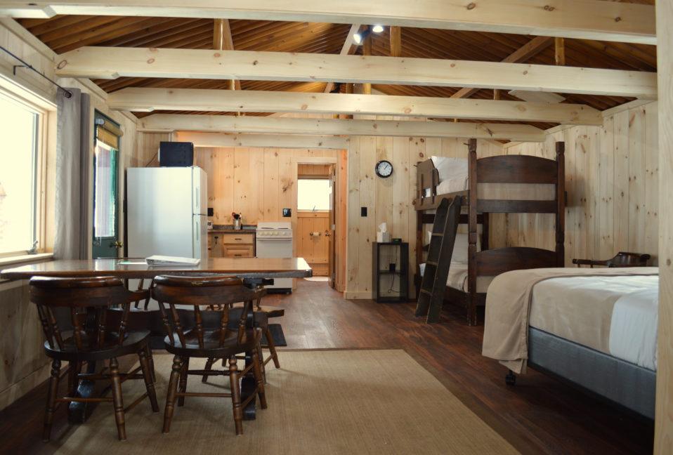 Grant Brook Cabin at neoc