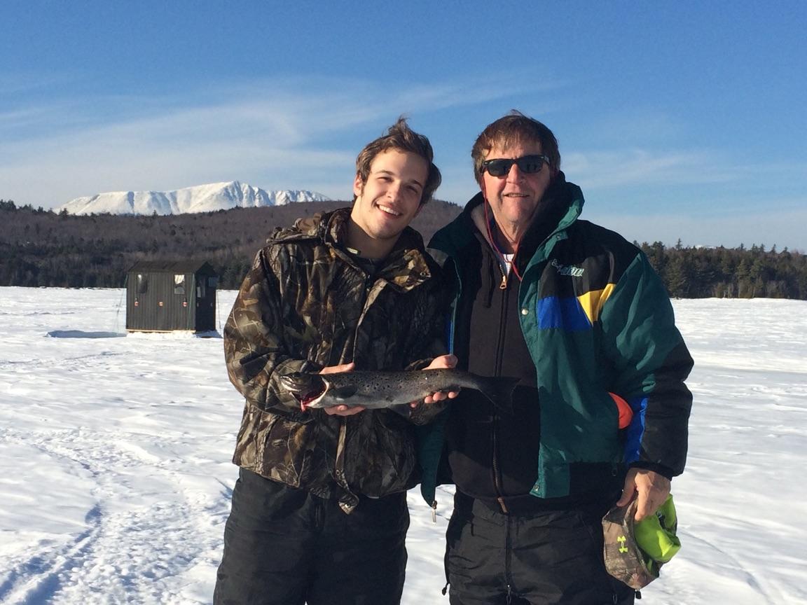Ice Fishing at NEOC