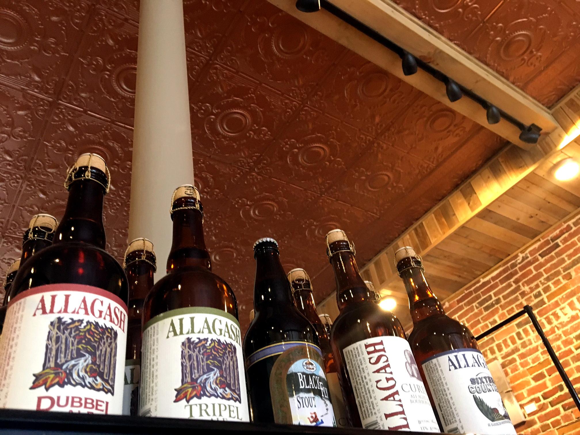 Woods and Water Shop Beer