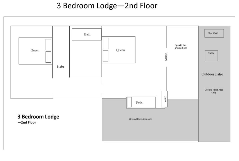 3 Br Lodge 2nd Floor
