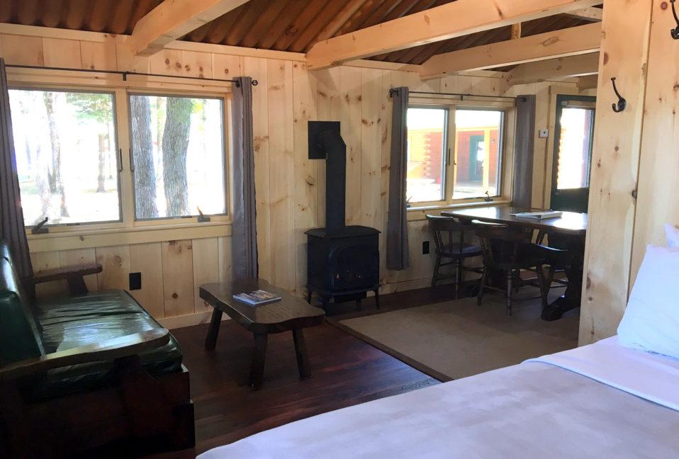 Wadleigh Brook Cabin Interior
