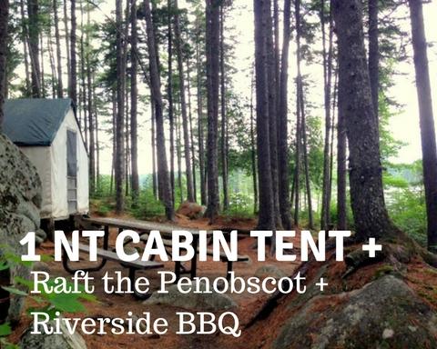 Cabin Ten 1 nt plus rafti