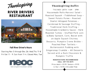 Thanksgiving at the RD