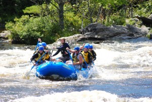 Whitewater Rafting with NEOC