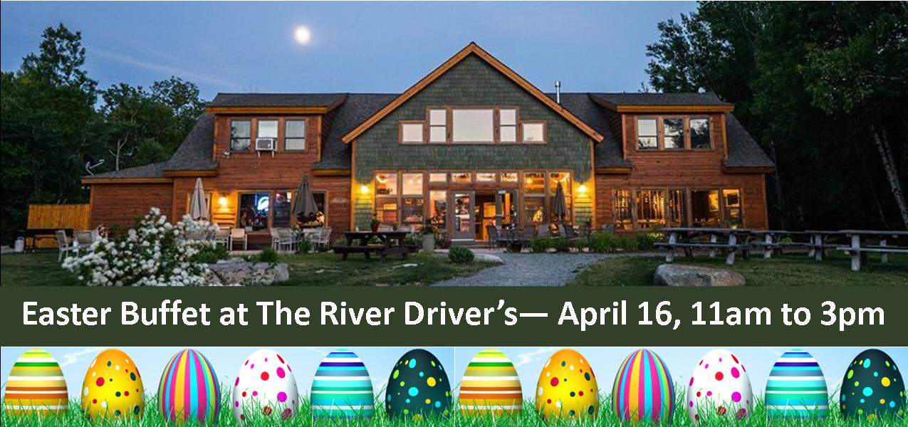 Easter Buffet at The River Driver's