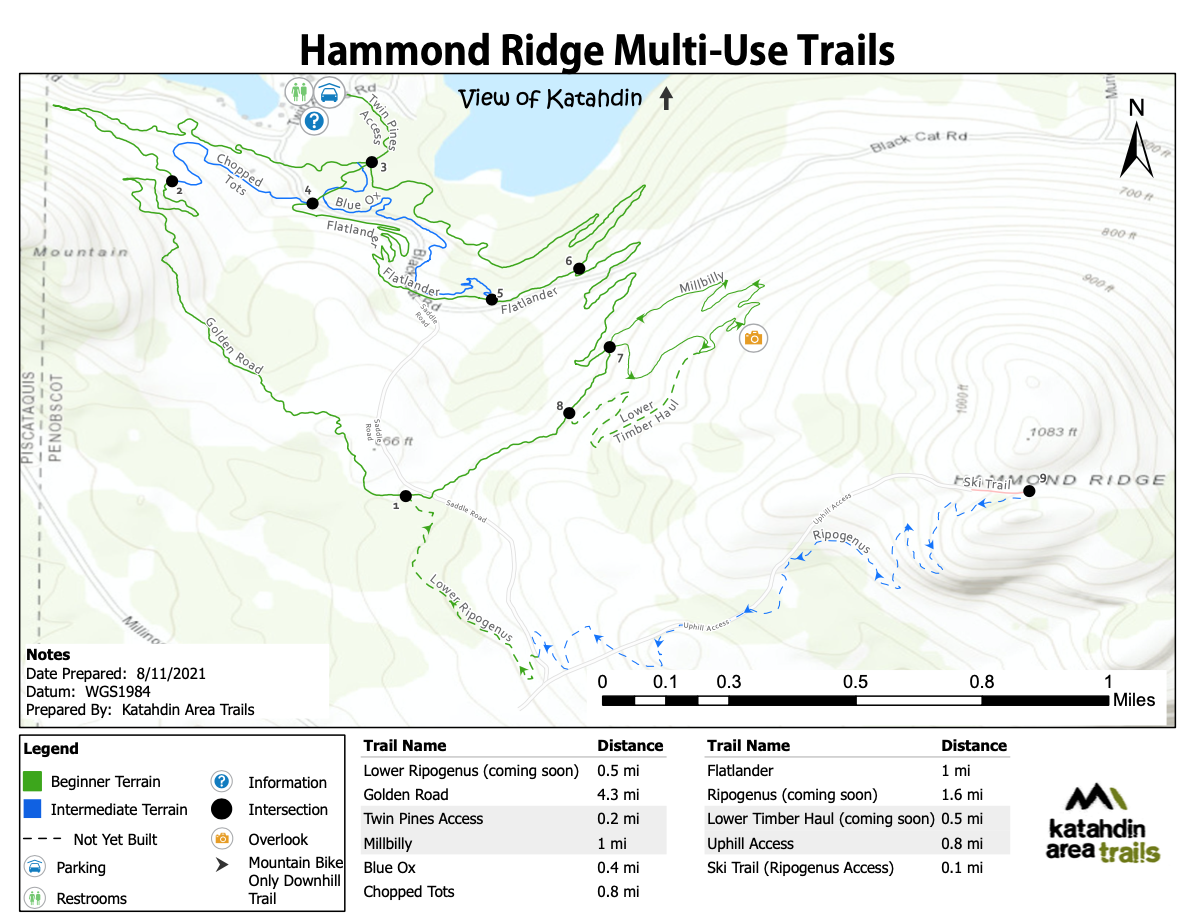 HammondRIdgeTrailMap