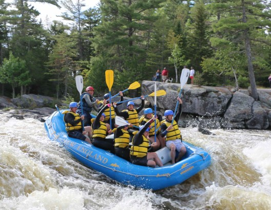 whitewater rafting the penobscot