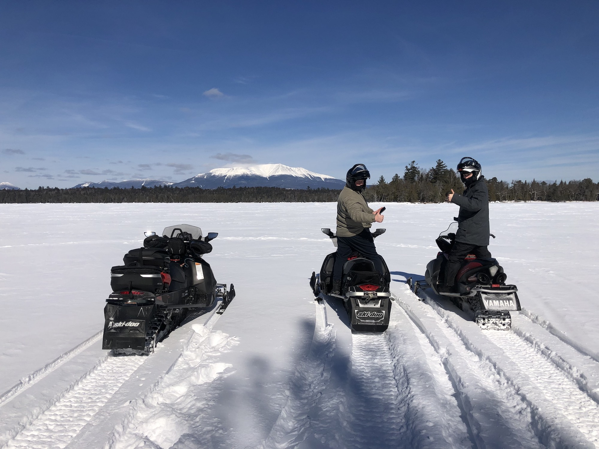 Snowmobiling NEOC