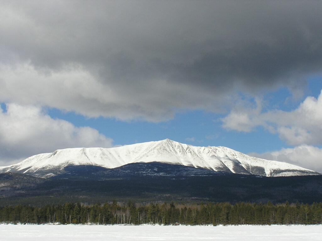 Katahdin in Winter