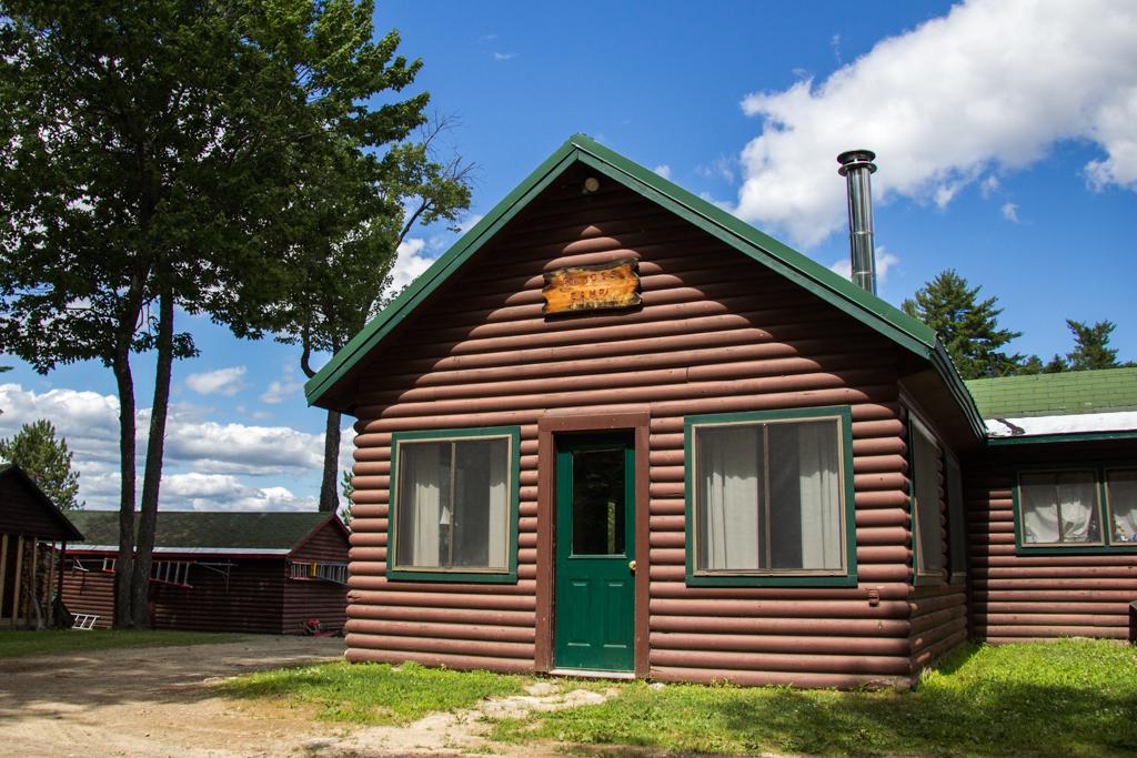 Guides Rental Cabin at NEOC on Millinocket Lake, Maine