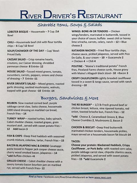 rd menu