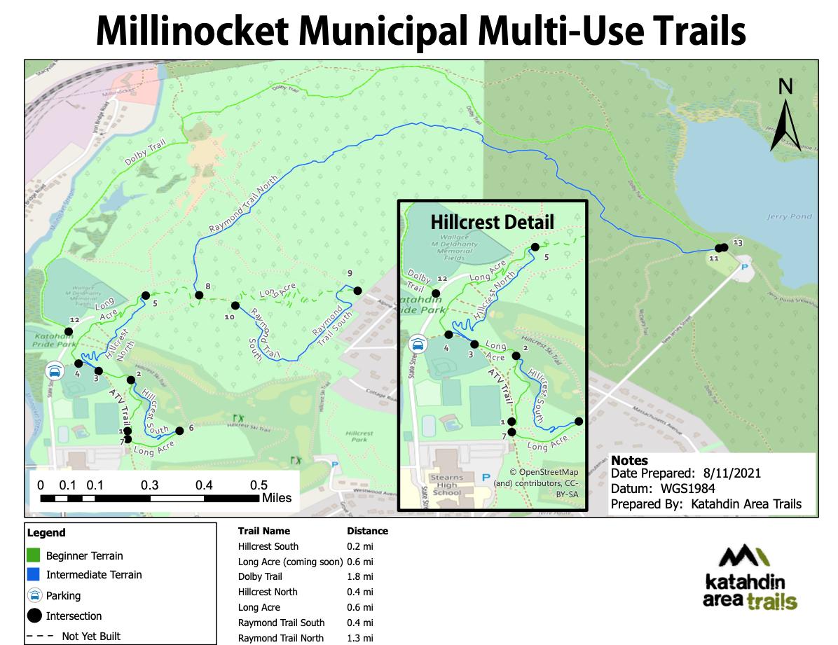 MillinocketMunicipalTrailMap