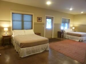 Bedroom in Lookout Cabin