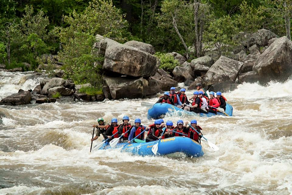 Rafting in Maine with NEOC