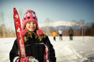 Skiing Girl at NEOC