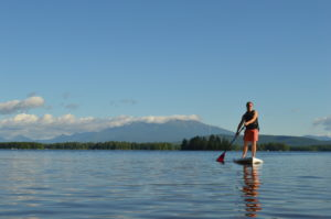 Paddle boarding at neoc
