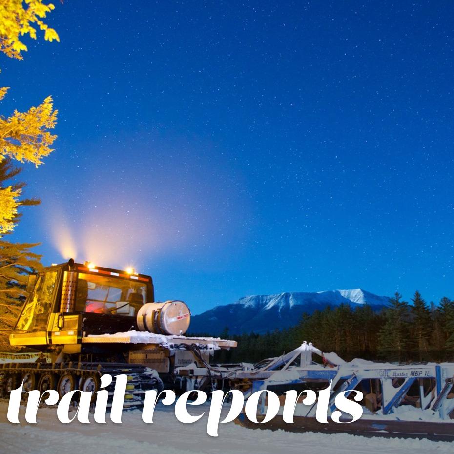 Snowmobile Trail Reports