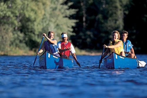 Maine canoe trip