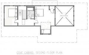 Cove second floor plan