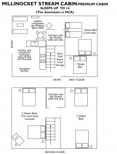 millinocket stream cabin floorplan
