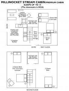 millinocket stream cabin floorplan