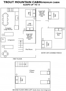 trout mountain floor plan