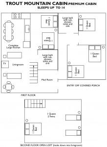 trout mountain floor plan