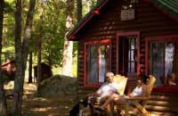 loding-maine-cabin-couple-outside-528