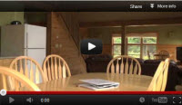 video of trout mountain cabin