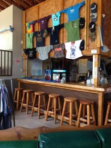 Penobscot Outdoor Center bar